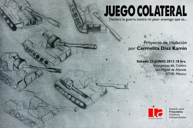 invitación JUEGO COLATERAL CHICA